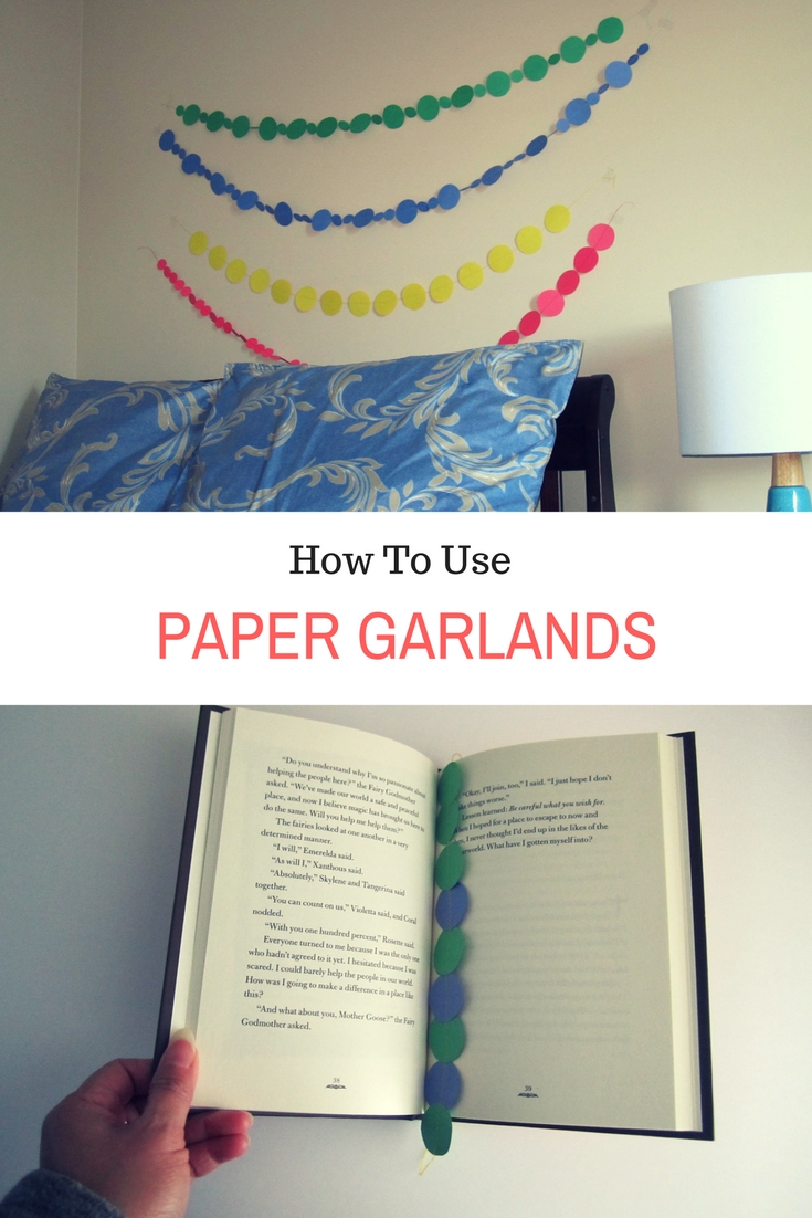 How to use paper garlands (1)