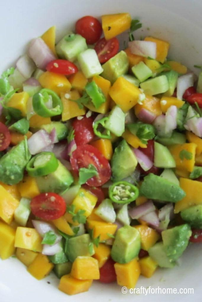 Mango Avocado Salsa