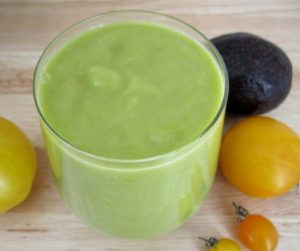 Avocado Tomato Smoothies