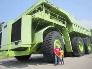World biggest truck in Sparwood