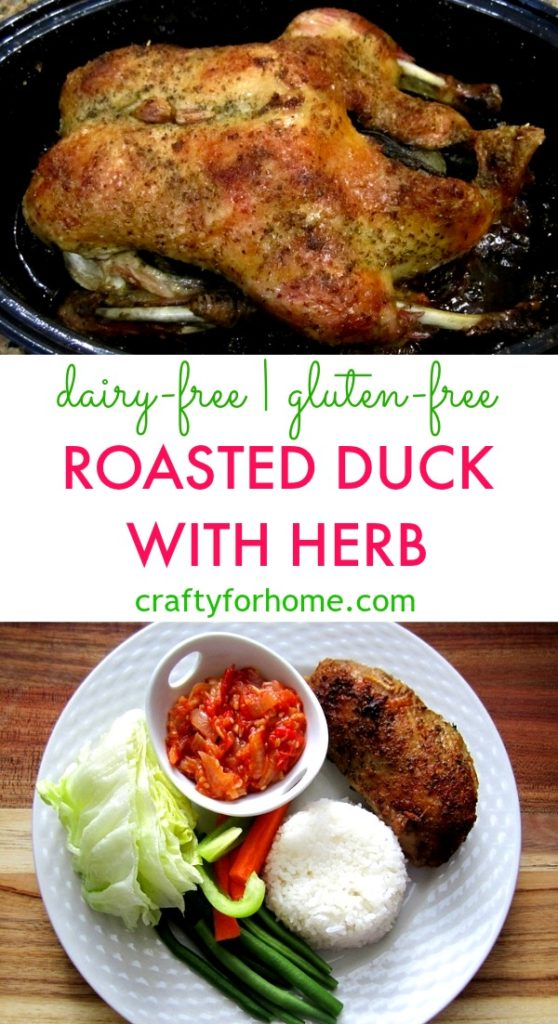 Roasted Duck With Herb