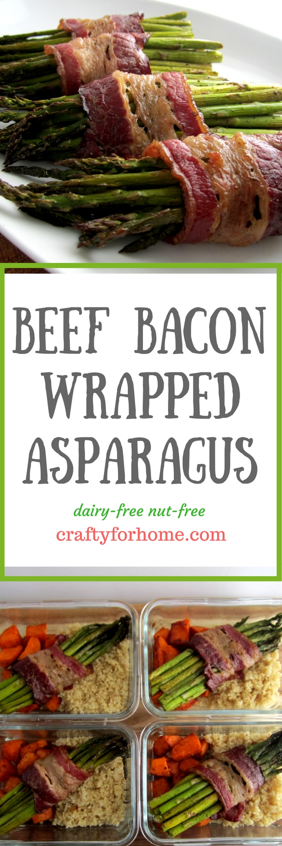 Beef Bacon Wrapped Asparagus Crafty For Home