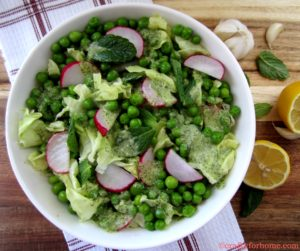 Minty Green Peas Salad