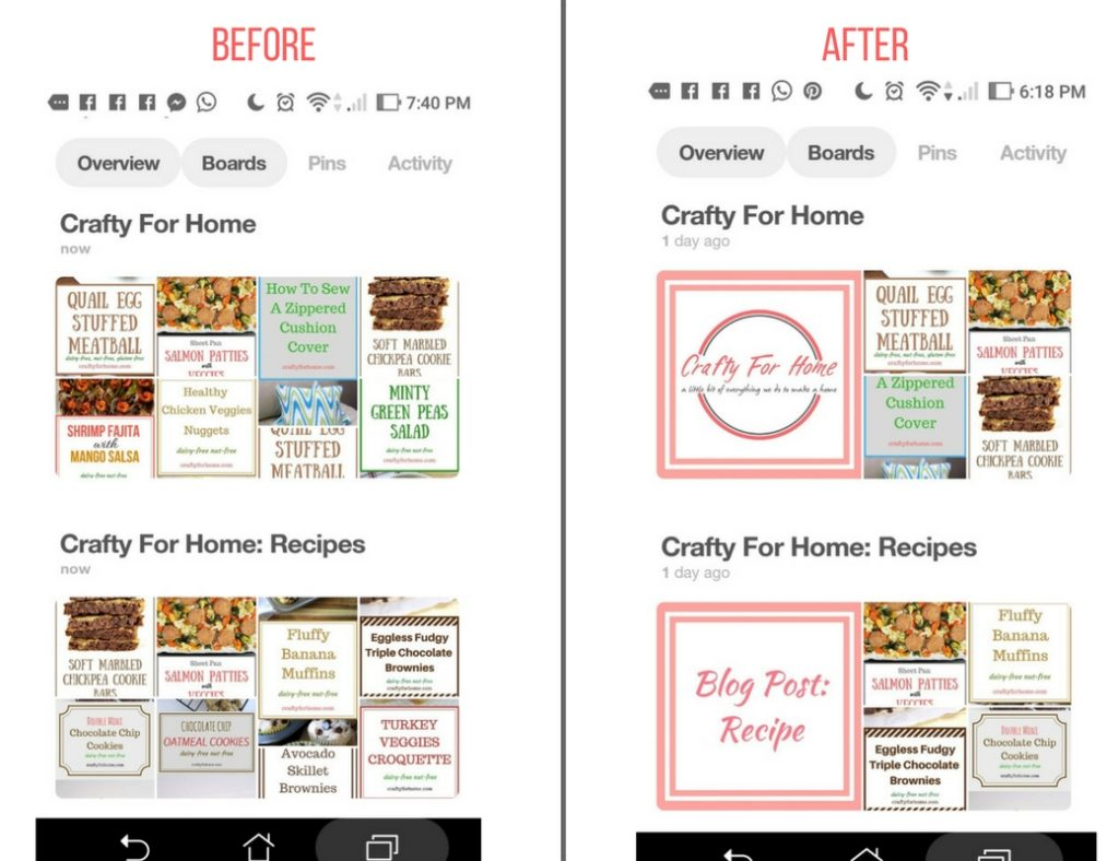 How To Customize Pinterest Board Covers | Crafty For Home