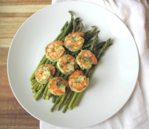 Sheet Pan Honey Garlic Shrimp Asparagus
