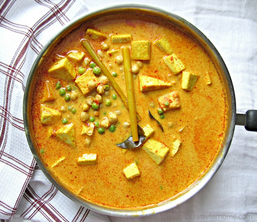 Tofu Chickpea Curry soup recipes