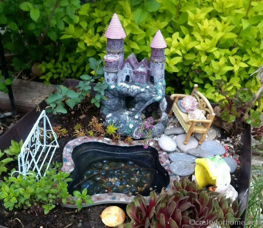 Miniature Garden Ideas | Crafty For Home