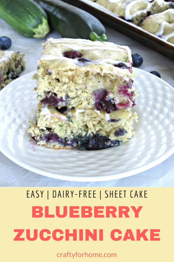 Blueberry Zucchini Cake Crafty For Home