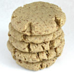 Easy and melt in your mouth flax cookies with only six ingredients. Dairy-free, egg-free and nut-free.