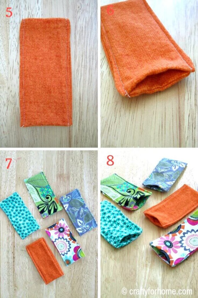 How To Sew Freezie Cozy | An easy to follow tutorial on how to make a freezie cozy to keep kid's hand warm when they are enjoying their favorite cool treat. #easycrafts #DIYfreeziecozy #freeziecozytutorials #sewingtips #DIYgiftideas #craftforkids #summercrafts #sewingpatterns #sewingforkids #flanelcrafts for full tutorials on https://craftyforhome.com
