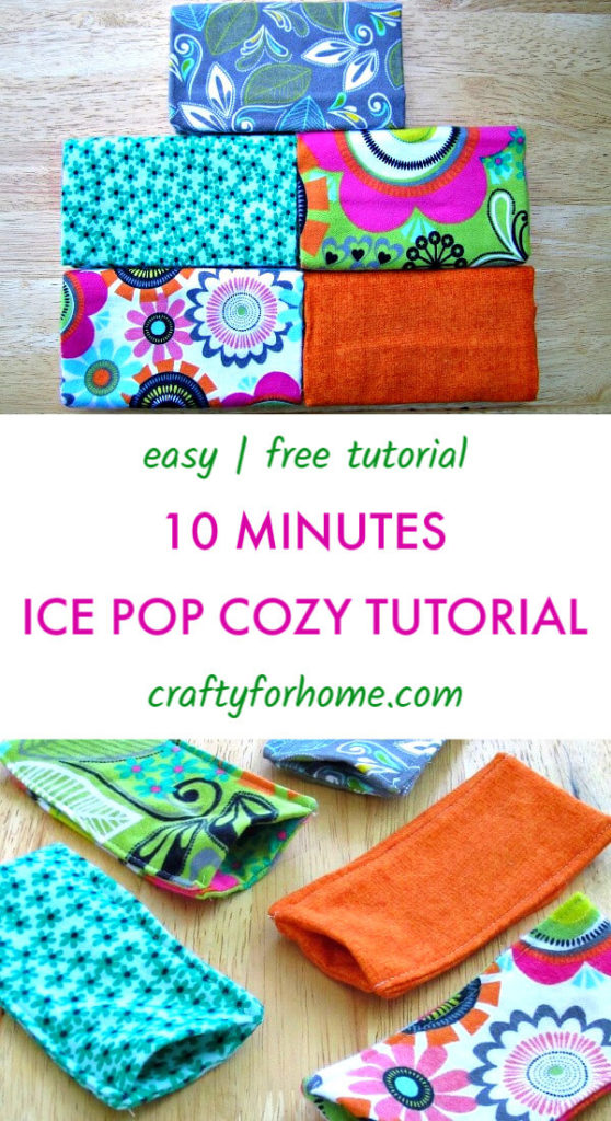 How To Sew Freezie Cozy
