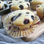 The best and moist dairy-free lemon blueberry muffins recipe that easy to make, perfect for breakfast, lunch box or snack times.