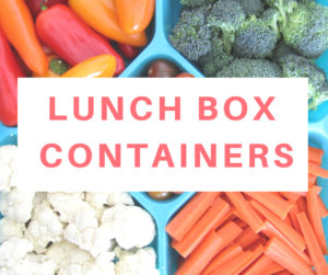 Functional and durable food containers for school lunch boxes, meal prep, or storing any leftover.