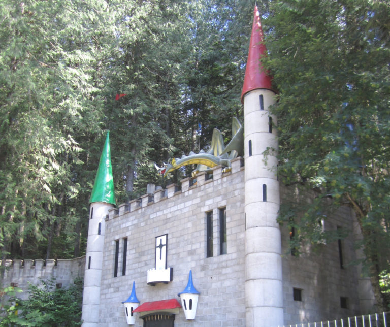 Take the family and friends to visit the Enchanted Forest in Revelstoke, British Columbia. You will see all enchanting figurines from the fairy tale stories and lots of beautiful miniature houses and treehouses that you wish to have it in the backyard.