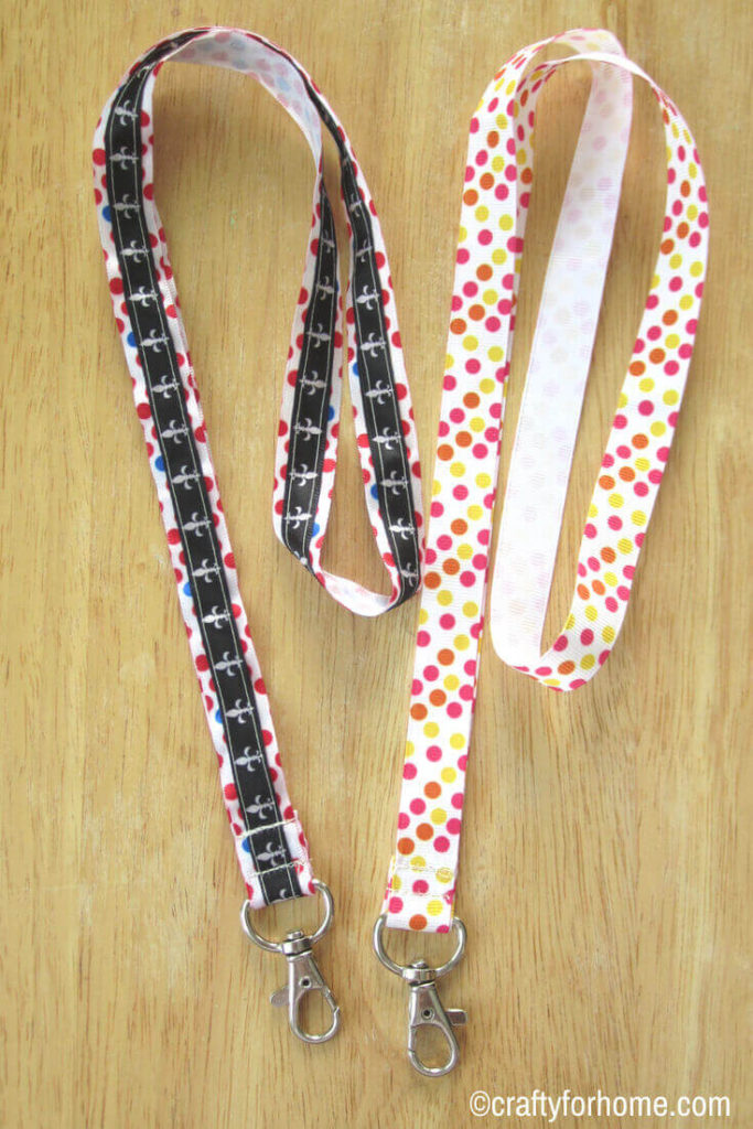 Easy Ribbon Lanyard | Crafty For Home