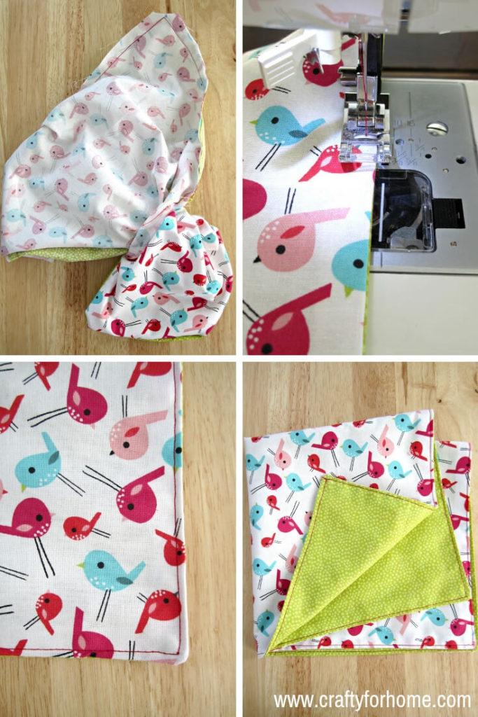 Handmade Cloth Napkins: Easy Tutorials   Crafty For Home