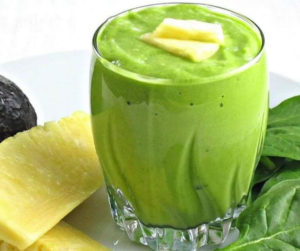Avocado Pineapple Smoothies