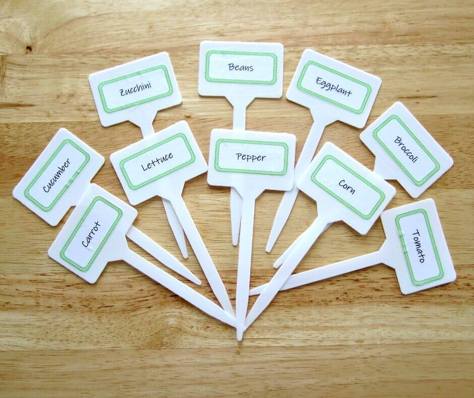 It is a photo of Unusual Printable Plant Labels
