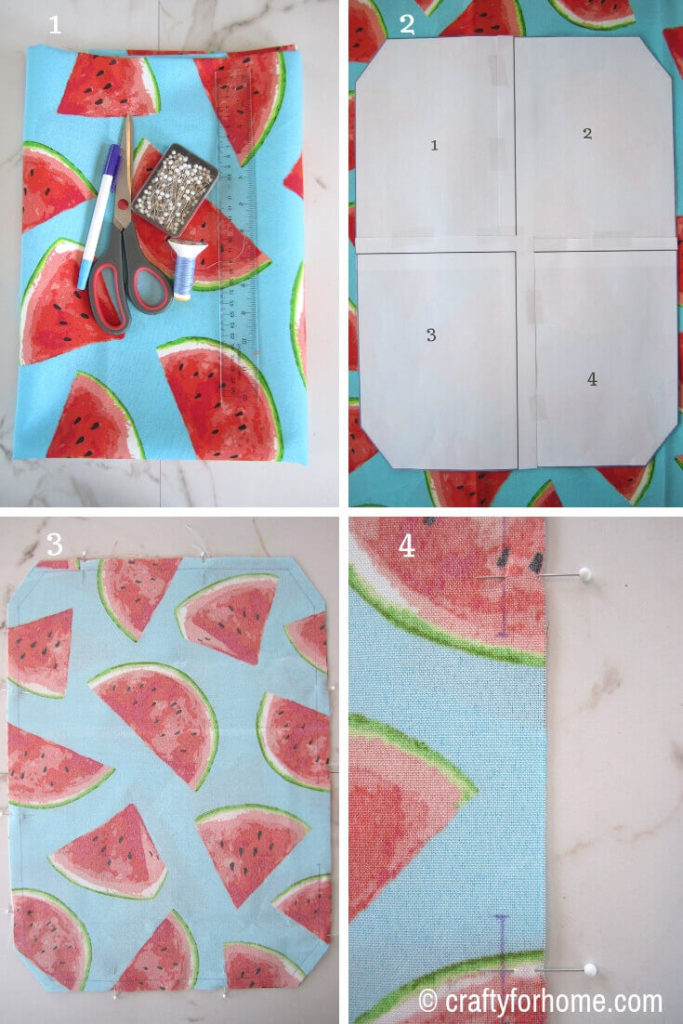 Sew Octagon-Shaped Placemat