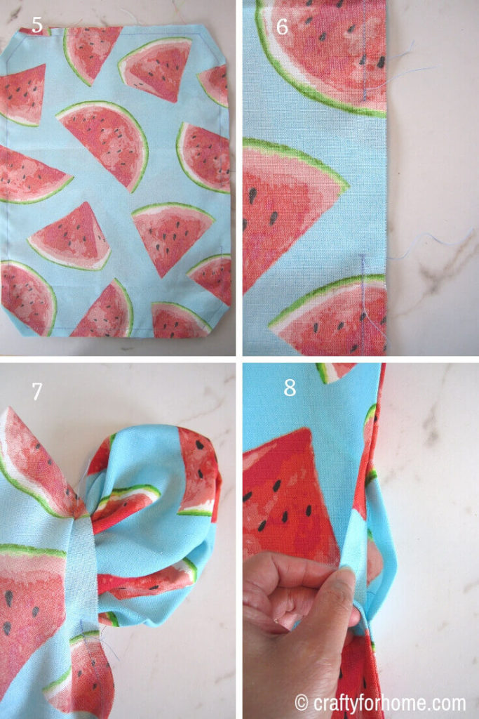 Sewing Placemat For Outdoors