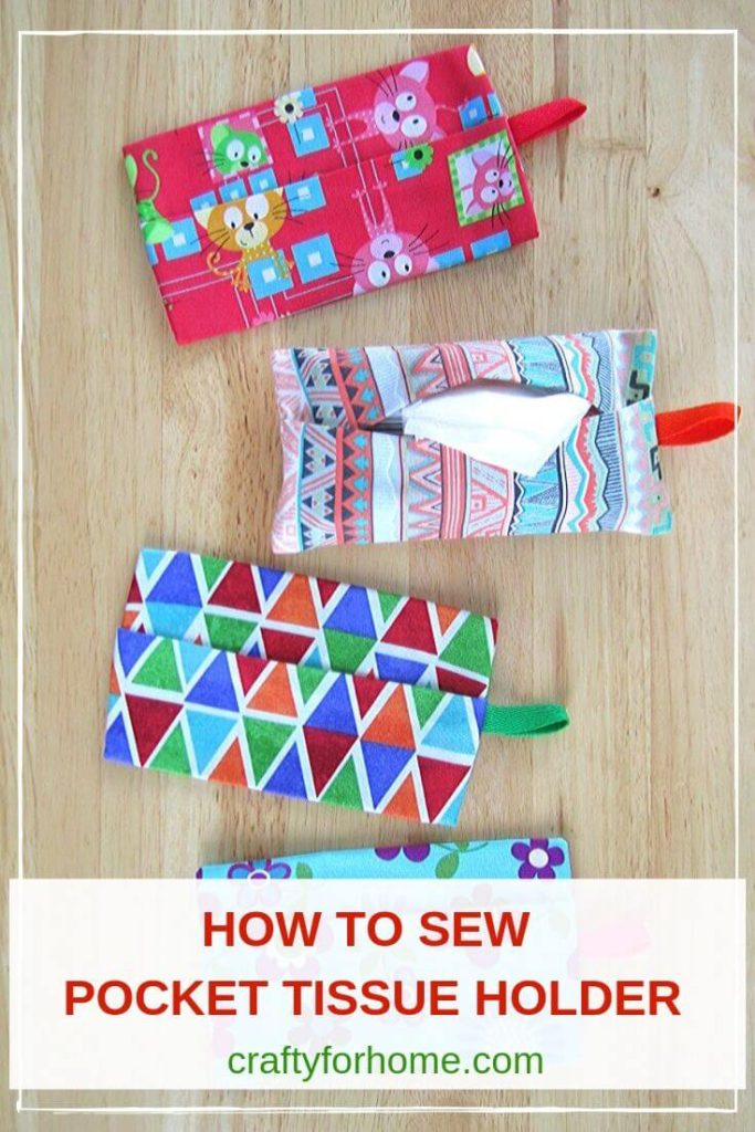 How To Sew Pocket Tissue Holders