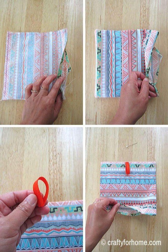 Ribbon For Pocket Tissue Holder