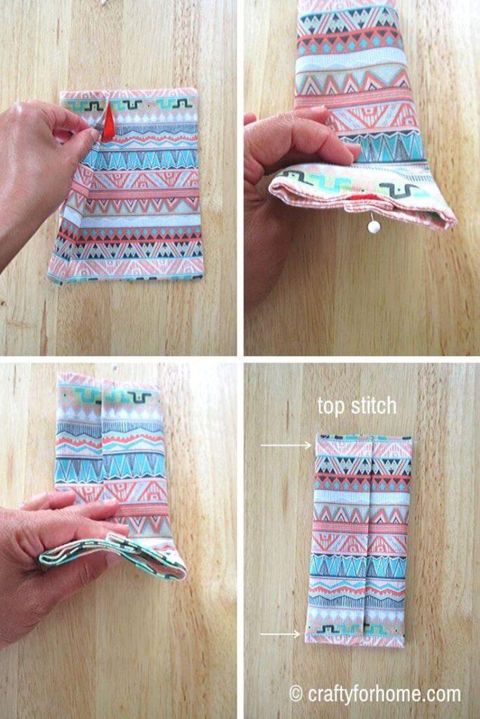 Sew Pocket Tissue Holder