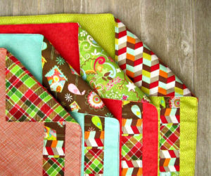 Easy Patchwork Cloth Napkins