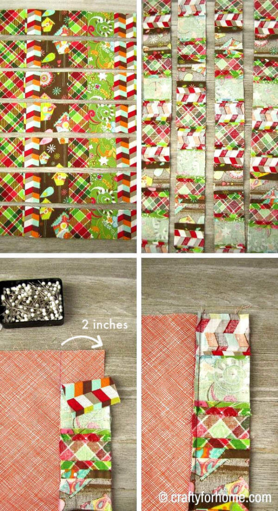 Making Patchwork For Cloth Napkins