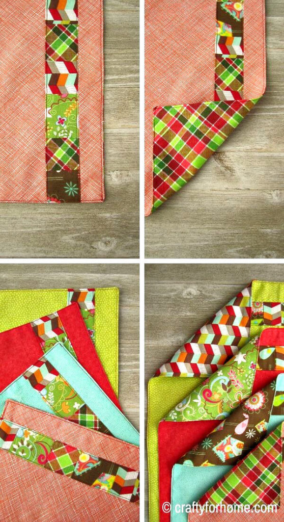 Patchwork Cloth Napkins
