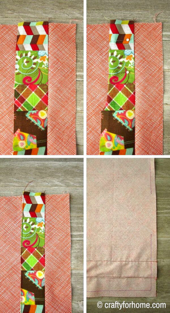 Sewing Patchwork For Cloth Napkins