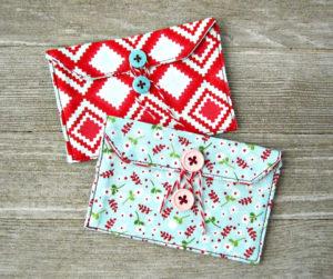 Easy Fabric Gift Card Holder Tutorial