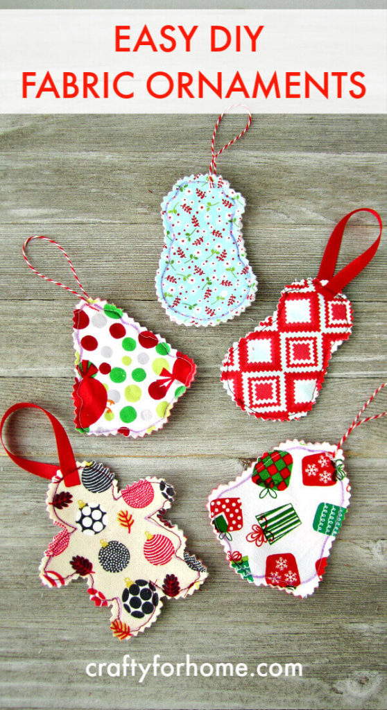 Easy Fabric Ornament