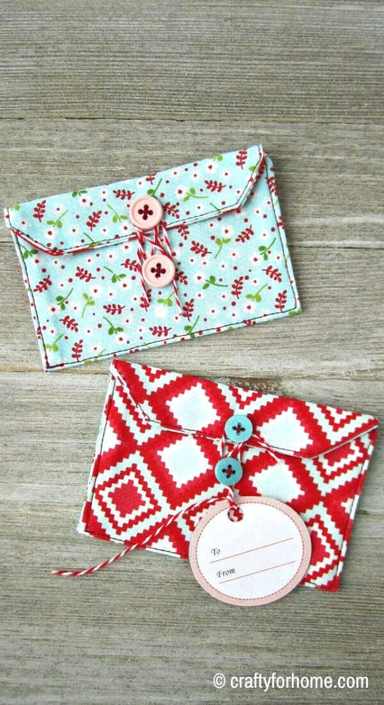 Gift Tag On Card Holder