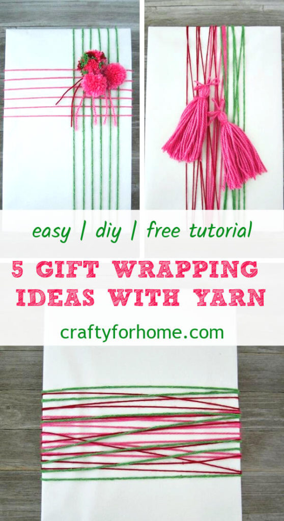 Yarn For Gift Wrapping