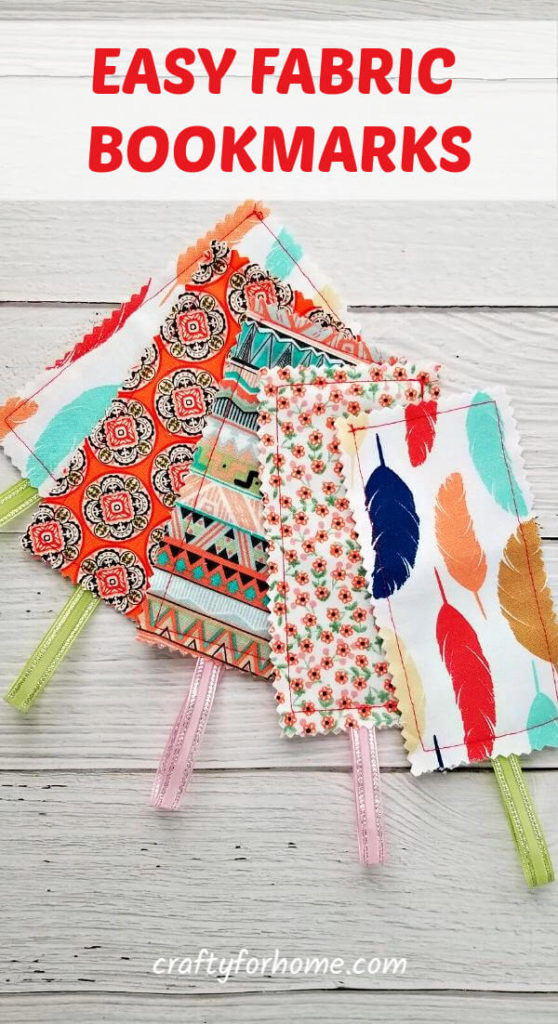 Easy Fabric Bookmark