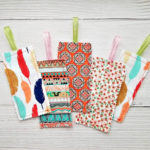 Sew Easy Fabric Bookmarks