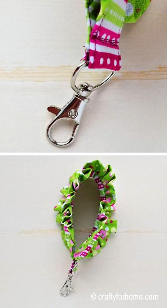 Attach Key Fob Clasp