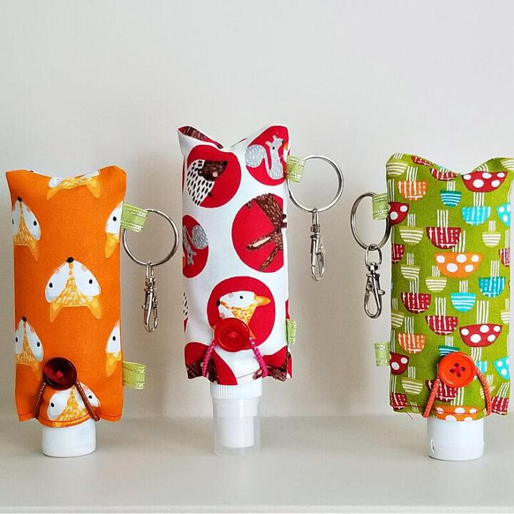 Easy Fabric Hand Sanitizer Holder