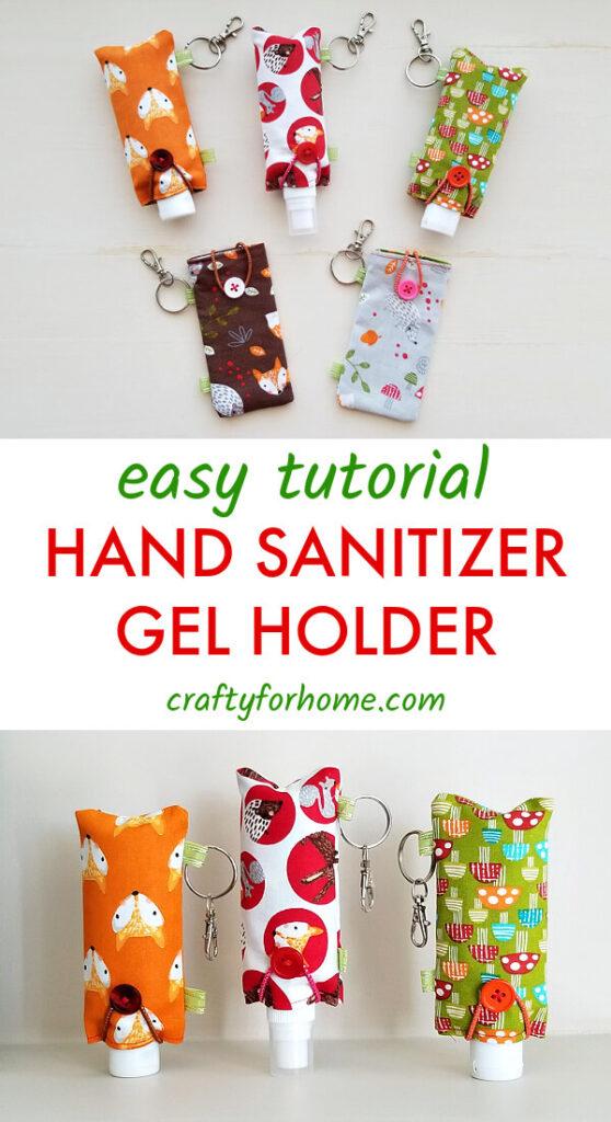 Easy Hand Sanitizer Gel Holder