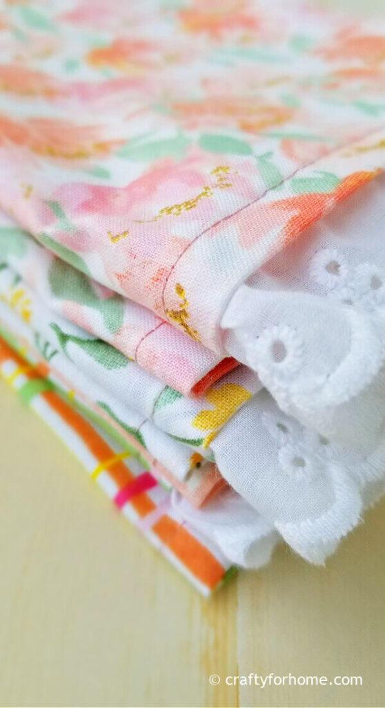 Lace Cloth Napkins Ready