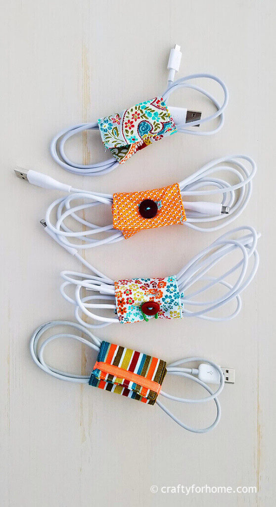 Fabric cord holders