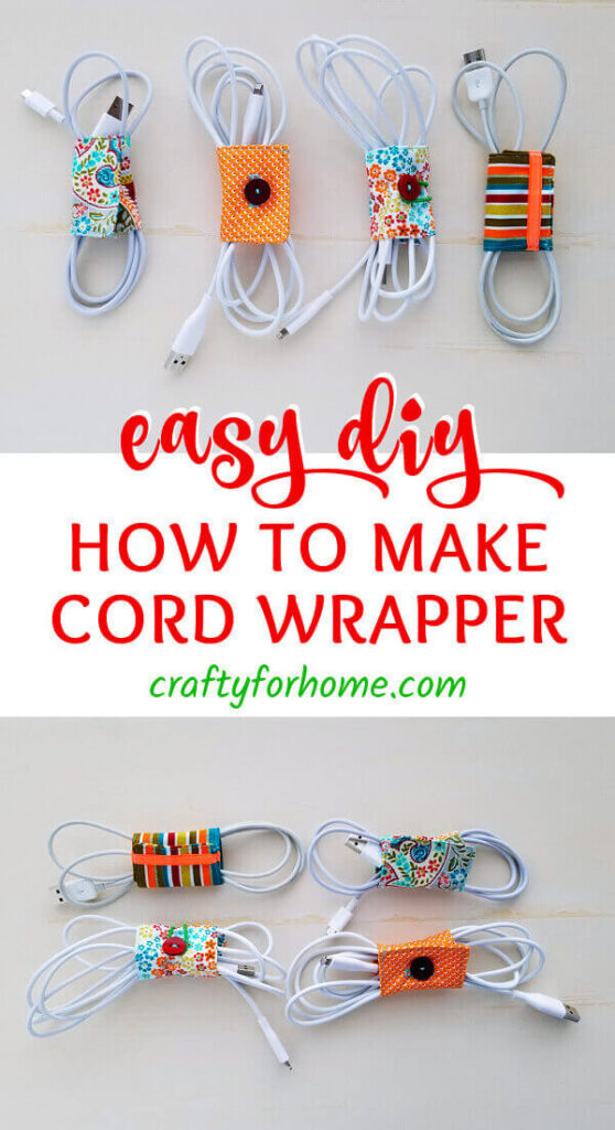 How to make cord wrapper
