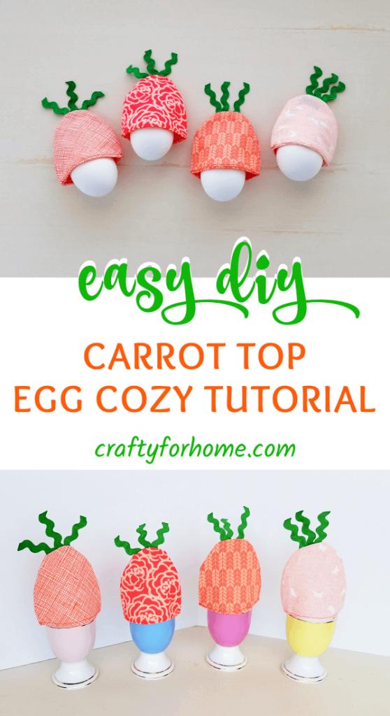 Carrot Top Egg Cozy Tutorial.