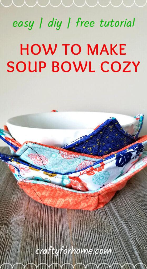 How To Make Bowl Cozy.