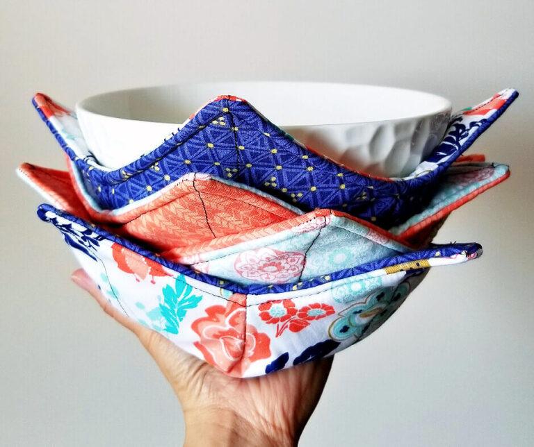 How to Make Soup Bowl Cozy Tutorial.