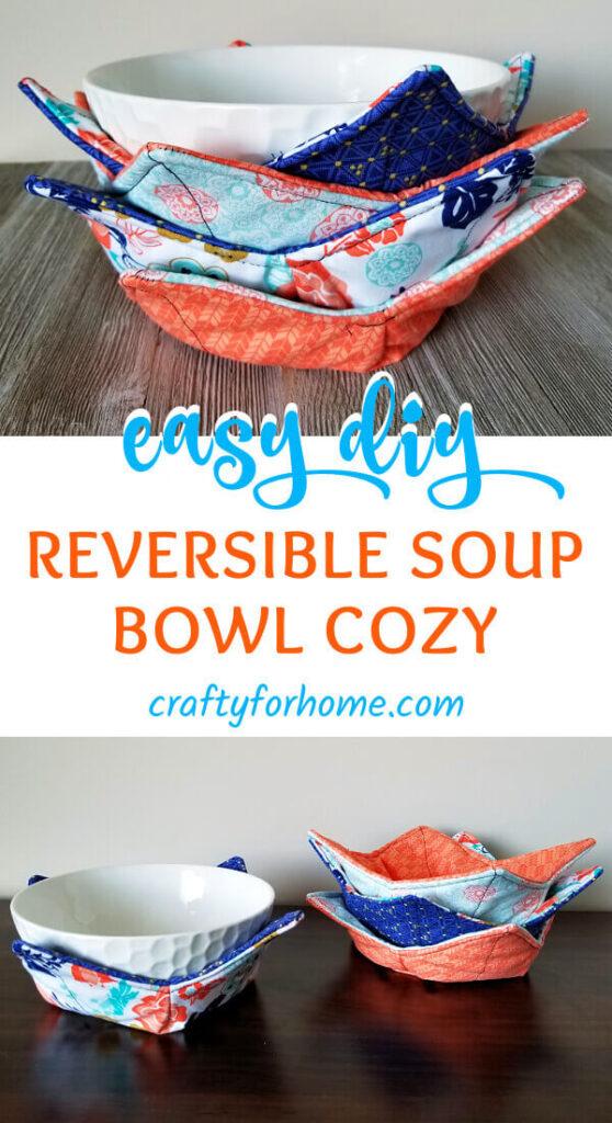 Reversible Bowl Cozy Tutorial.