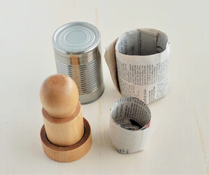 How To Make Newspaper Plant Pots