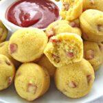 Corn Dog Muffins Bites